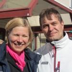 Marjo ja Kari Tolvanen Tapiolassa 9.4.2011