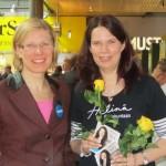 Marjo ja Helinä Sellossa 15.4.2011