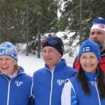 Jännitystä parlamenttien välisissä hiihtokilpailuissa Norjassa