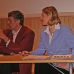 """""""Kuka sinua hoitaa"""" seminaarin puheenjohtajana 14.2.2007. Mukana edustaja Tennilä"""