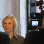 Televisiohaastattelussa  2.2.2011