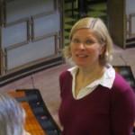 Eduskunnan lehterillä 16.3. vieraina Espoon työväenopiston opiskelijoita