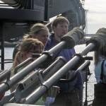 Tutustumassa miinalautta Porkkalaan 11.6.2007