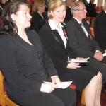 Talvisodan päättymisen muistojuhla 13.3.2011 Satu Hallenberg, Marjo ja Finn-Göran Wennström