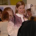Tikkurilassa Prisman aulassa naistenpäivänä 8.3.2007